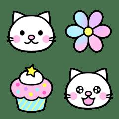 ◆ネコ&いろいろ絵文字♪◆