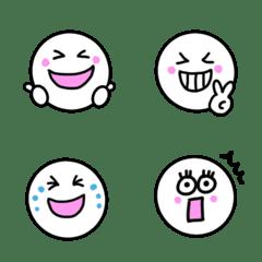 yu-nekoのしろまるシンプル絵文字
