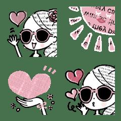 大人ガーリー♡おしゃかわ絵文字【PINK】
