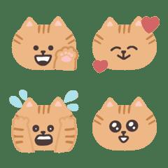 茶トラ猫さんの絵文字