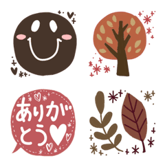秋色絵文字日常