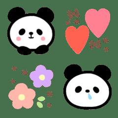 パンダと絵文字*
