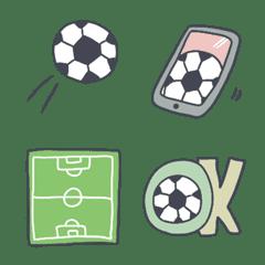 【 しんぷるかわいいサッカー】