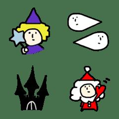 ハロウィン&クリスマス♡絵文字