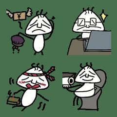 おじさん虫03 絵文字