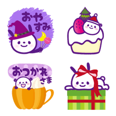 ハロウィン★クリスマス 【秋冬】絵文字