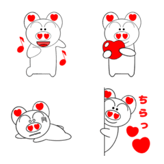 ぶた吉の絵文字2