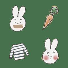 まゆげウサギ