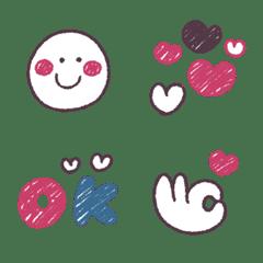 シンプル★ピンク&ブルー
