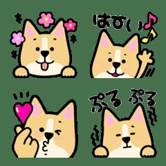 犬のモモちゃん絵文字