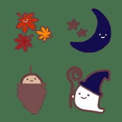 秋のおばけ