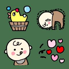 Baby♡絵文字【ナチュラルカラー】