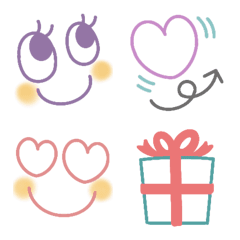 オトナ可愛い使える絵文字