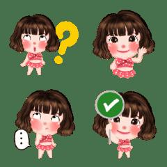 Somsri Red cheeks emoji