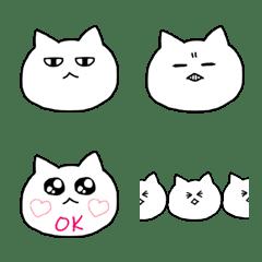 目付きの悪い猫