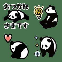 キラキラパンダ絵文字