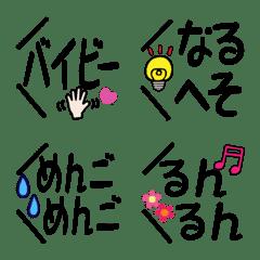 使いやすい[吹き出し]死語編