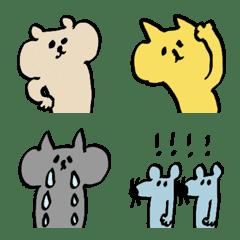 シュールな動物たち