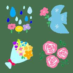 【日常】シンプル✳︎四季の花