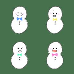 カラフル雪だるまくん3