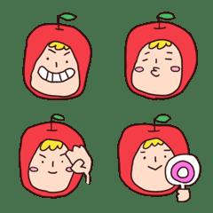 りんごちゃんの絵文字