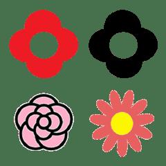 オシャレ花絵文字