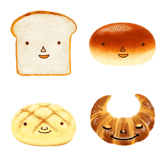 たべられないパン屋絵文字