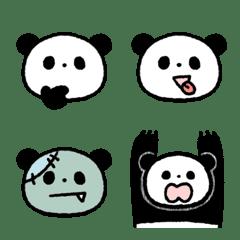 表情いっぱい顔いっぱい!ゆるふわパンダ
