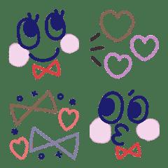 オトナ可愛い使える絵文字2