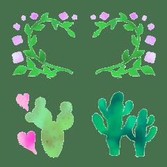 観葉植物なフレーム♥️