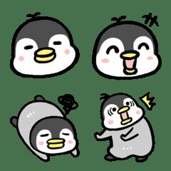 ペンギン色んな顔の絵文字