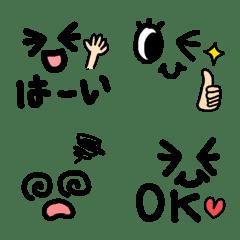 表情顔の絵文字