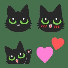 黒猫ちびの使える絵文字
