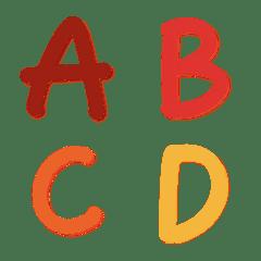 英語の単語ABC73