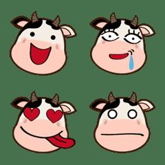 Moo~moo~かわいいハッピーラックカウ