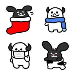 ロックなウサギとドクロちゃん/新しい冬