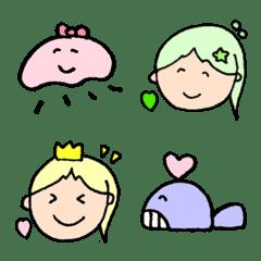 人魚姫と仲間たち