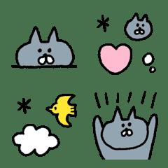 ゆるくてかわいいネコ絵文字