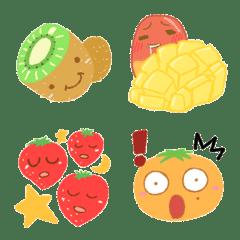 かわいい果物の絵文字