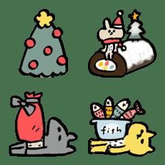 シュールな動物たち⑤冬