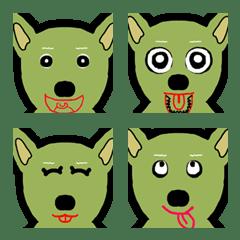 Green Husky