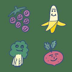 Everything has Emojis: Fruits & Veggies
