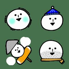 丸くてゆるいヤツ(冬)