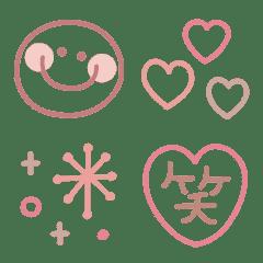 大人ガーリー♥スモーキーピンクベージュ