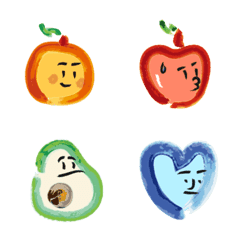 Daily life of fruits