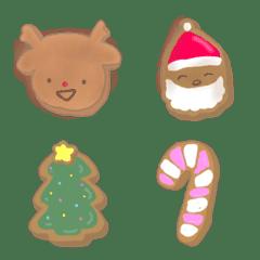 小さな赤鼻トナカイとクリスマスクッキー