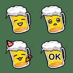 ビール好きに捧げる絵文字