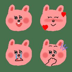 うさこちゃんの感情絵文字