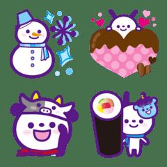 イベントに使える【冬】絵文字★12,1,2月