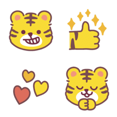 虎トラ絵文字